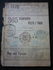 náhled knihy - 365 polodenních výletů z Prahy