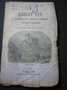 náhled knihy - Karlův Týn a veškeré jeho části
