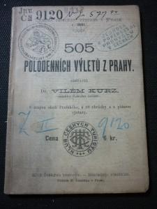 náhled knihy - 505 polodenních výletů z Prahy
