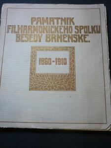 náhled knihy - Památník filharmonického spolku Besedy Brněnské 1860-191