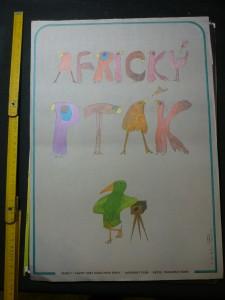 náhled knihy - Africký pták