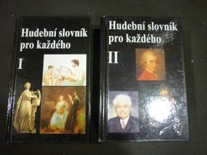 náhled knihy - hudební slovník pro každého I.,II..