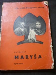 náhled knihy - Maryša : drama v pěti jednáních : děj na moravské dědině