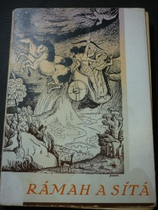 náhled knihy - Rámah a Sítá : Epos Rámájanam