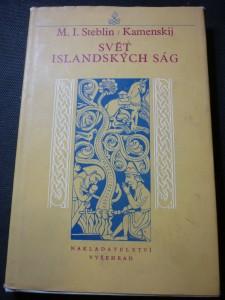 náhled knihy - svět islandských ság