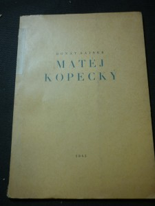 náhled knihy - Matěj Kopecký