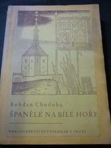 náhled knihy - španělé na Bílé hoře