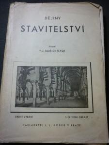 náhled knihy - dějiny stavitelství