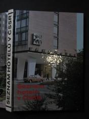 náhled knihy - Seznam hotelů v ČSSR