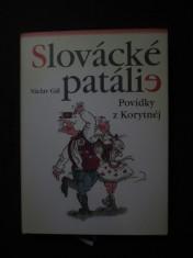 náhled knihy - Slovácké patálie : povídky z Korytnéj