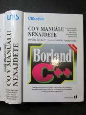 náhled knihy - Co v manuálu nenajdete - Příručka jazyka C++ pro začátečníky i profesionály
