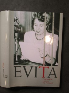 náhled knihy - Evita : příběh vášně a utrpení Evy Perónové