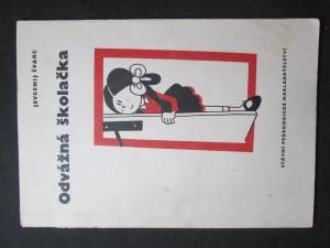 náhled knihy - Odvážná školačka