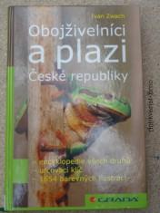 náhled knihy - Obojživelníci a plazi České republiky : encyklopedie všech druhů, určovací klíč ...