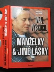 náhled knihy - Ivan Vyskočil: Manželky a jiné lásky