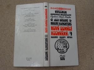 náhled knihy - Nová domácí kuchařka IV. Díl; moučníky, dezerty, nápoje