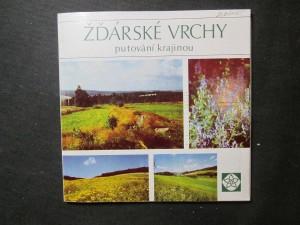 náhled knihy - Žďárské vrchy : putování krajinou chráněné oblasti