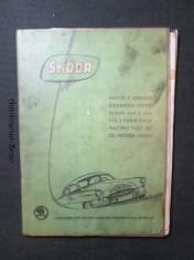 náhled knihy - Škoda - návod k obsluze osobního vozu Škoda 440 a 445