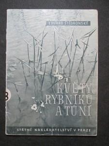 náhled knihy - Květy rybníků a tůní : Doplňková četba přírodopisná pro školy II. a III. stupně