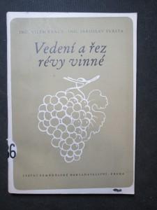 náhled knihy - Vedení a řez révy vinné : Možnosti použití vysokého vedení révy v našich vinařských oblastech