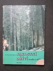 náhled knihy - Jakostní dříví : tvorba a těžba : zmírnění neb dstranění ztrát v lesním a dřevařském hospodářství