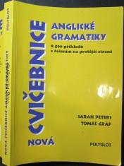 náhled knihy - Nová cvičebnice anglické gramatiky : 8500 příkladů s řešením na protější straně