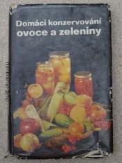 náhled knihy - domácí konzervování - ovoce a zelenina