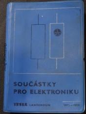 náhled knihy - Součástky pro elektroniku