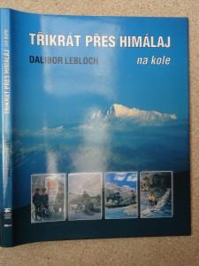 náhled knihy - Třikrát přes Himálaj na kole