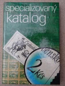 náhled knihy - Specializovaný katalog Československých poštovních známek