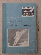 náhled knihy - Letadlové reaktivní motory
