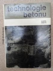 náhled knihy - Technologie betonu