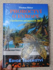 náhled knihy - Proroctví o Evropě z knihoven palmových listů