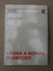 náhled knihy - Logika a norma osobnosti