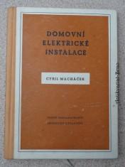 náhled knihy - Domovní elektrické instalace : Určeno pro vedoucí montážních čet a pro elektromontéry
