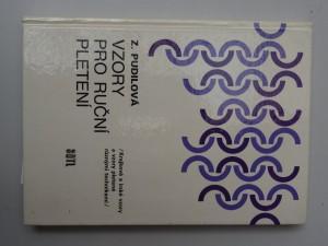 náhled knihy - Vzory pro ruční pletení : krajkové a irské vzory a vzory pletené růz. technikami