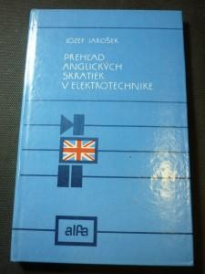 náhled knihy - prehlad anglických skratiek v elektrotechnike