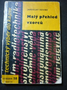 náhled knihy - Malý přehled vzorců : matematika - mechanika - termika - elektrotechnika : pomůcka ke studiu i pro praxi