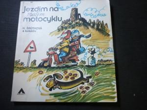náhled knihy - Jezdím na malém motocyklu
