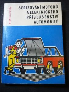 náhled knihy - seřirování motorů a elektrického příslušenství automobilů