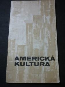 náhled knihy - americká kultura