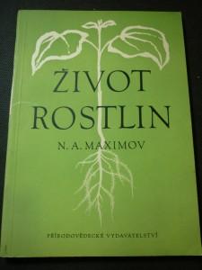 náhled knihy - život rostlin