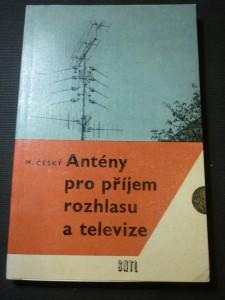náhled knihy - Antény pro příjem rozhlasu a televize : určeno [také] pro zákl. odb. školy