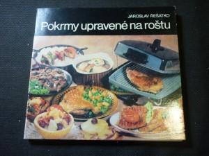 náhled knihy - Pokrmy upravené na roštu