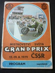 náhled knihy - mistrovství světa Grand Prix ČSSR