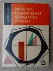 náhled knihy - Príručka elementárnej matematiky a fyziky