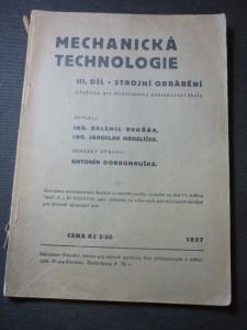 náhled knihy - mechanická technologie