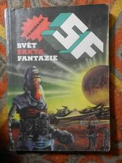 náhled knihy - SF-Svět, fakta, fantazie : Magazin lit. faktu a sci-fi