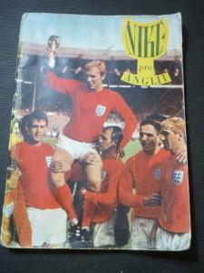 náhled knihy - Niké pro Anglii : 8. mistrovství světa 1966 v kopané