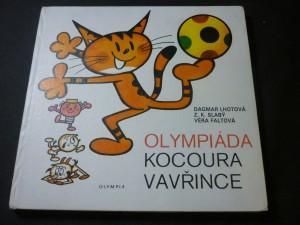 náhled knihy - Olympiáda kocoura Vavřince